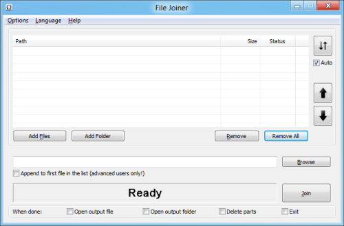 File Joiner 2.0 new look